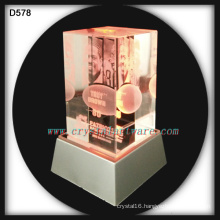 patriots hall of fame 3d laser engraved crystal souvenirs