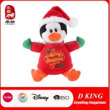 Плюшевые Пингвин Праздник Рождественский Подарок Мягкая Игрушка