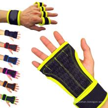 Crossfit y guantes de levantamiento de pesas