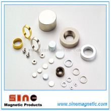 Hightemperature Permanent Neodymium (NdFeB) Magnet