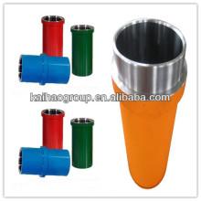 API Cilindro hidráulico estándar para la bomba de lodo Partes finales del fluido