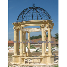 Stone Marble Garden Gazebo Tent for Outdoor Furniture (GR068)