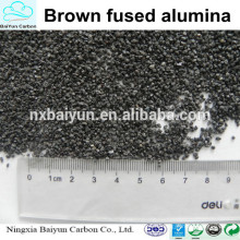 Al2O3 95-65% Corindon brun / Alumine fondue marron