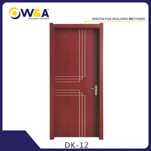 Eco-Friendly Impermeable WPC Interior Puertas Fabricante para Dormitorio Baño