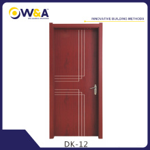 Eco-Friendly Waterproof WPC Interior Doors Manufacturer for Bedroom Bathroom