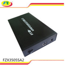 USB 2.0 Aluminum External Hard Drive HDD Case Enclosure 3.5 Inch SATA
