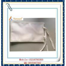 Bolsa tejida de filtro de tela para galvanoplastia para separación de sólidos y líquidos