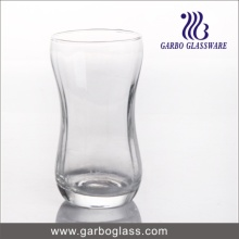 Blowing Clear Milk Glass Cup (GB062713)