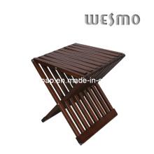 Chaise pliante en bois en bois (WRW0507B)