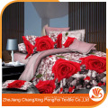 China suppliers wholesale 3d bedding set fabric material
