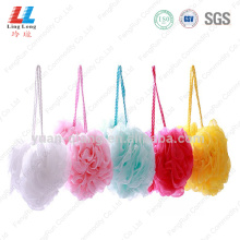 best+body+loofah+soap+Mesh+Shower+Puff+Sponge