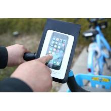100% wasserdichte Lenker-Smartphone-Tasche