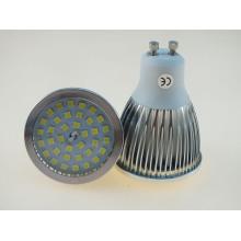 Super-Brilhante GU10 7W 600lm Lâmpada LED