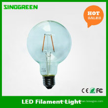360 Degree Vintaged Ce RoHS 2W Globe G95 LED Bulb 2700k