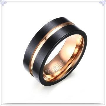 Moda acessórios anel de moda de jóias de tungstênio (SR763)