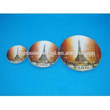 Assiette décorative personnalisée en porcelaine