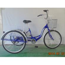 Triciclo de carga trasera económica de 6 velocidades (FP-TRCY043)