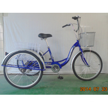 Economic Rear 6speed Cargo Tricycle (FP-TRCY043)
