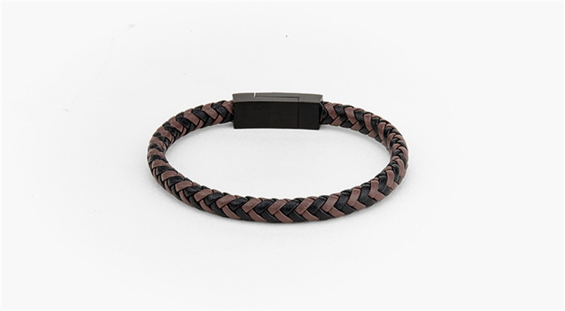Magnetic Clasp Leather Bracelets