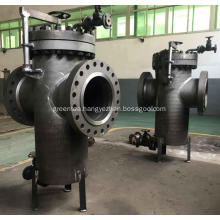 Basket Type Strainer With Bypass Valve