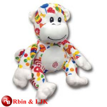 Meet EN71 and ASTM standard ICTI plush toy factory wholesale stuffed monkey toys