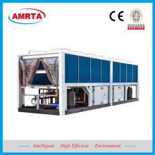 Refrigerador de água de refrigeração ar do parafuso de R407C / R410A / R134A