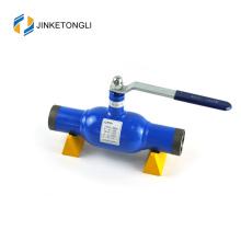 JKTL2W032 Hot venda em aço inoxidável totalmente soldada válvulas de esfera de calor de gás e válvulas de esfera de abastecimento de água
