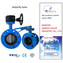 2015 hot sell hot selling d371 wafer butterfly valve with fluorine