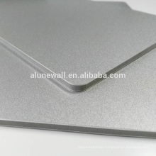 Fireproof 2-15mm metal silver aluminum composite panel hot sale acp