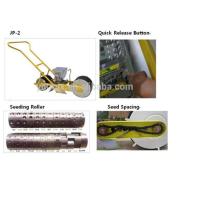 Grama manual do impulso da mão / semeadora vegetal / sementes vegetais que planta a máquina