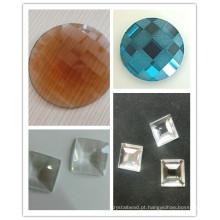 Novo 2016 China Contas de Vidro Planas Para Trás Pedras Diamantes Strass