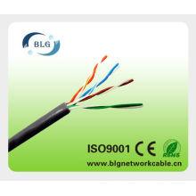 Cable del cable cat5 / utp cat5e del LAN / cable de la fábrica de shenzhen
