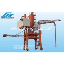 Machine de chargement en vrac de vrac à main pour le ciment à charbon de grain
