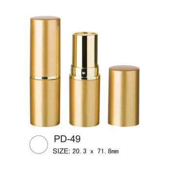 Cylindrical Plastic Lip Gloss Containers