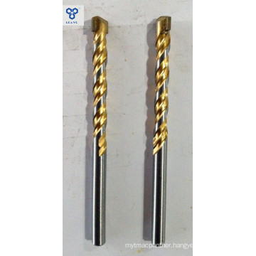 Masonry Drill Bits with Ti-Coated