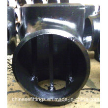 Nahtlose API 5L Carbon Steel Pipe Fittings Barred Tee