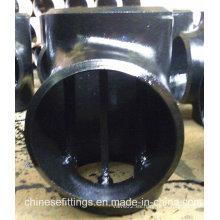 Accesorios de tubería de acero inoxidable API 5L Barred Tee