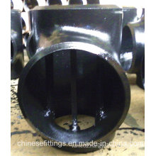 Seamless API 5L Carbon Steel Pipe Fittings Barred Tee