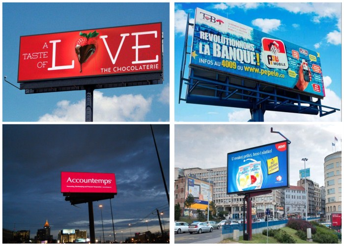 Billboard LED Display