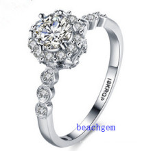 Hot Sell Jewelry- Cubic Zirconia Brass Rings (R0824)