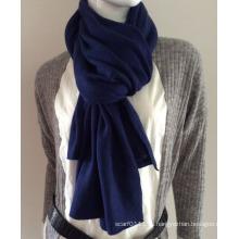 Женская мода темно-синий кашемир вязаный шарф (YKY4387-3)