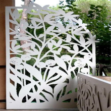 Privacy Laser Cutting Metal Screen