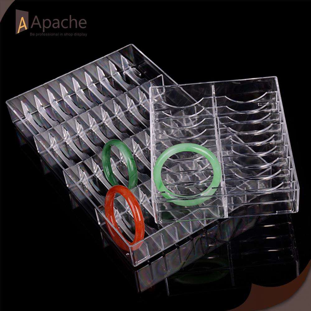 Acrylic Bracelet Grids Display Box
