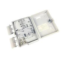 Boîte à bornes à fibres optiques 4cords vide avec séparateur