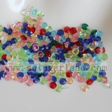 Boda Mesa Confeti Resina Crystal Diamond Beads 3MM