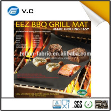 Free Sample as seen on tv non-stick fiberglass bbq grill mat 100% non-stick bbq grill mat