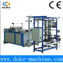 Hot Cuting Ziplock Bag Making Machine