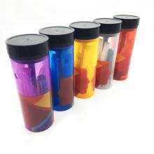 Shisha de narguilé de bouteille en plastique mini portable avec des accessoires entiers (ES-HS-004)