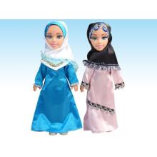 2015 Новая пластиковая мусульманская кукла для новорожденных с арабским IC