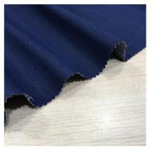 Tecido de têxtil de estiramento de poliéster catiônico cinza denim